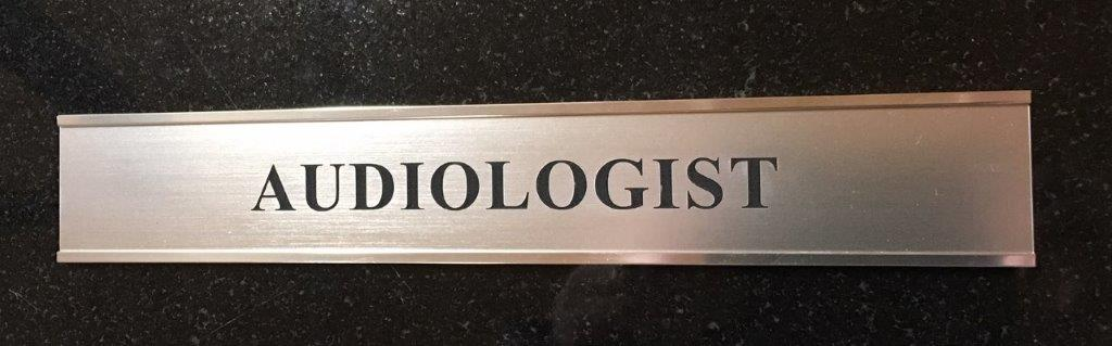 Silver Door Name Plate & Extrusion 250mm x 38mm